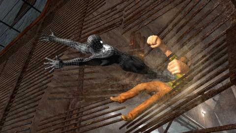Sandman is the game's second villain.