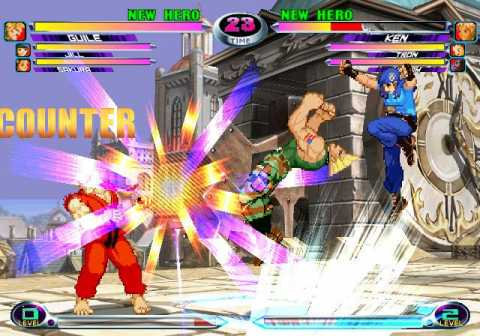 In some cases, all six characters might be on the screen at the same time.