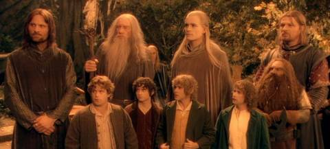 The Fellowship represented five different races