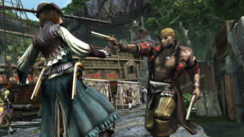 As in previous games, multiplayer centers around templar avatars, some of whom Kenway kills in the single player.