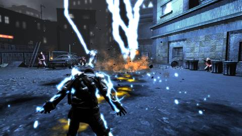 In InFamous, you can either be BLUE Cole.....