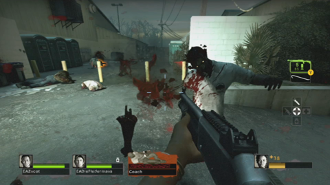 Dismembering zombies is a really satisfying new way to take them out quickly.