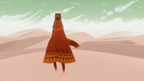 Who are you? And why are you in this desert? Journey never bothers to answer these questions, but you won't feel cheated for that fact.