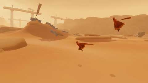 You have no direct say in Journey's multiplayer element, and trust me when I say that's for the best.