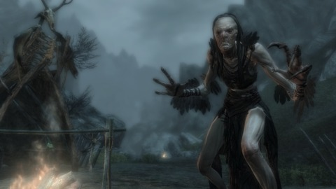 Okay, maybe I wouldn't say doable for evvvvery woman in Skyrim!
