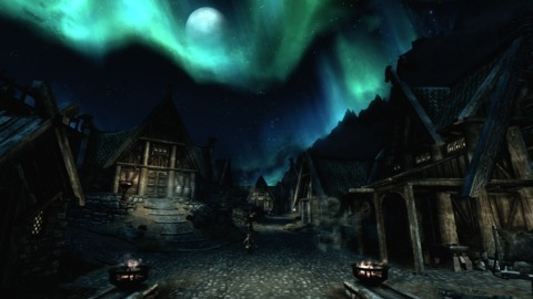 Skyrim is a fine-looking game when it wants to be.