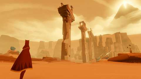As ruined worlds go, Journey's is simply awesome.