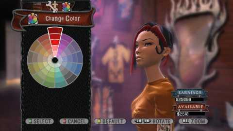 You can get real obsessive-compulsive with the character creator.