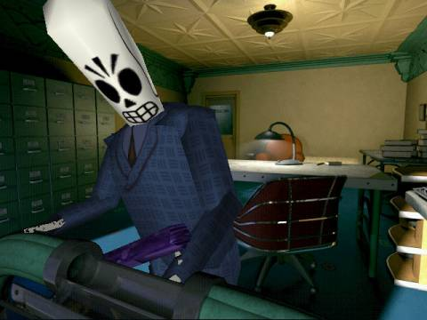 With $1.6 million raised so far, the Kickstarter is approaching the budget for Grim Fandango.