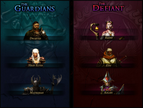 The races in RIFT.