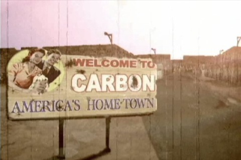 Carbon, the first town in the game.