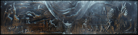 Prophecy on Alduin's Wall