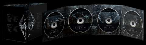Skyrim's 4-disc OST