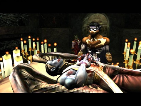 Raziel resurrects Janos
