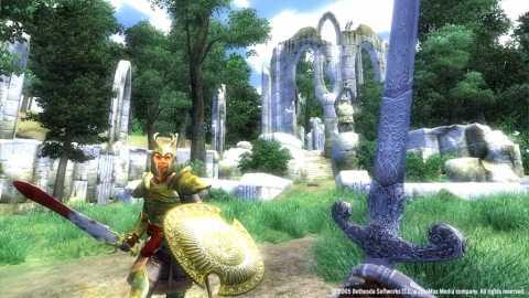 The Elder Scrolls IV: Oblivion uses the Gamebryo engine