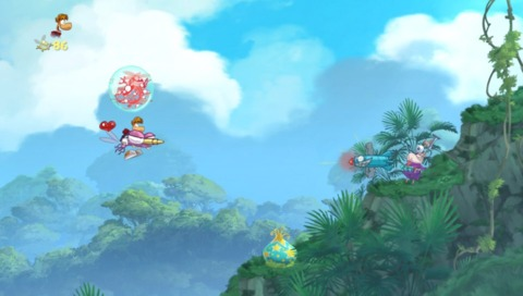 Rayman's on the Vita now, and just as good as ever.