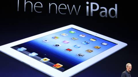 Yup. That sure is a new iPad.