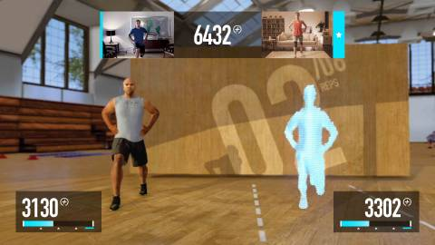The new Nike+ fitness game.