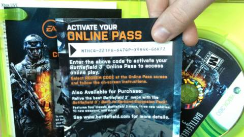 You'll find no more of these silly codes to enter just to play online multiplayer.