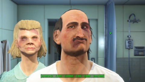 Making the most hideous survivor couple possible is a new video game rite of passage.