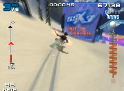 Alternate routes do NOT seem to be a part of the new SSX.