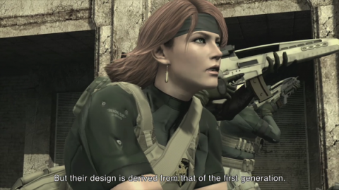Meryl's appearance in Metal Gear Solid 4 proved which of the original game's endings was canon.