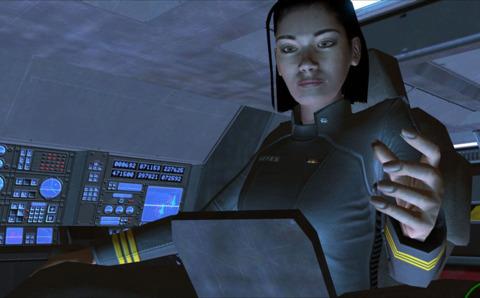 Miranda Keyes at the helm