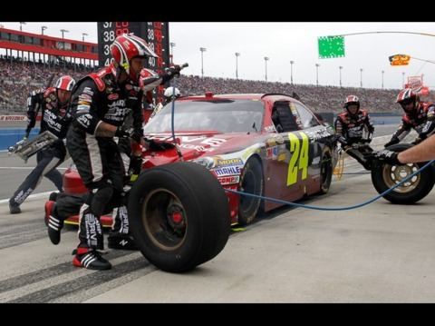 Got some work to do on pit road