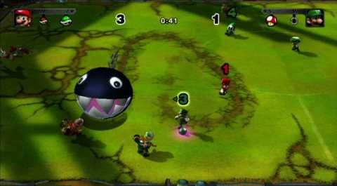 Chain-Chomp being released on the field