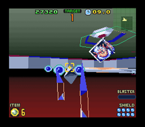 Practically speaking, this still image is also how this level looks in motion.