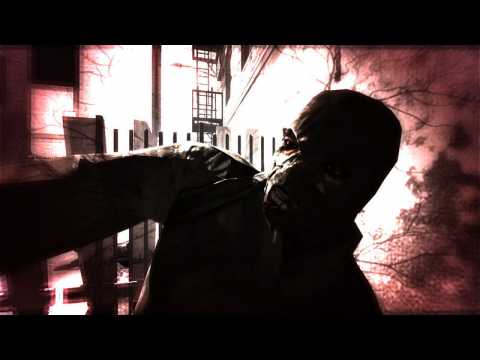 A screen capture from the first Condemned game (PC version).