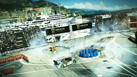 DiRT's version of the Gymkhana