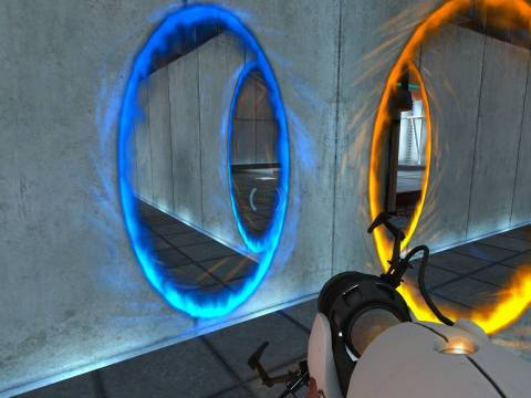 Portal - A picture is worth a thousand words.