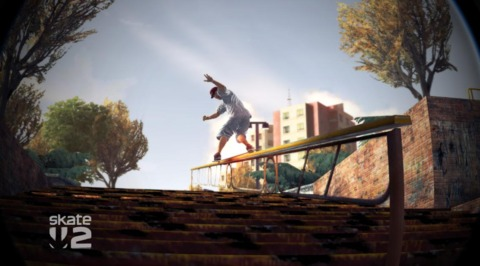 Moves which seen tame on the Tony Hawk's games feel great and rewarding here