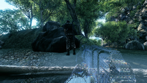 Cloaking is the way to go if you want to take a stealthy approach with Crysis