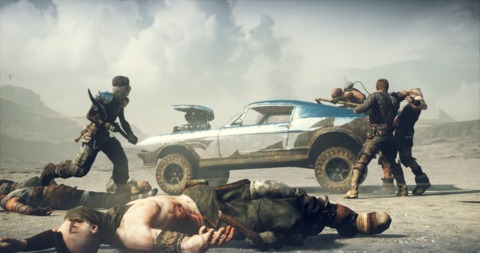 All throughout Mad Max, you're building up your 'Magnum Opus', a hard-charging death machine you customize to your own deadly specifications.