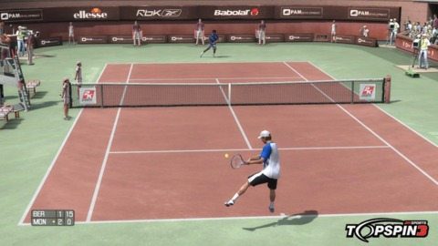 Tomas Berdych hitting the ball