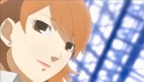Yukari as she appears in the animated cutscenes.