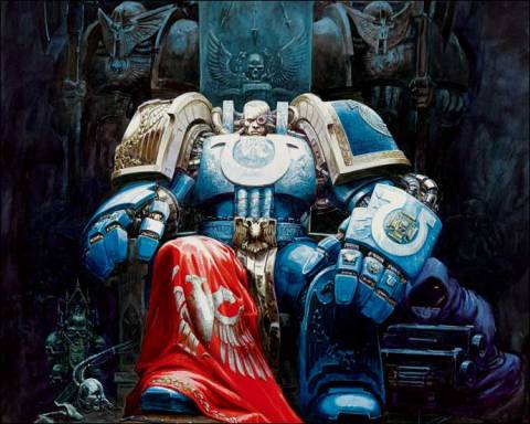 Marneus Calgar, current Chapter Master of the Ultramarines