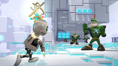 Clank has his own demons to fight throughout the game.