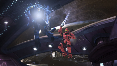 One of the new maps on ODST's multiplayer disc is Heretic, a remake of Halo 2 classic Midship