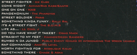 Kylie Minogue was totally imersed into her role as Cammy, so she couldn't record anything for this AMAZING CD.