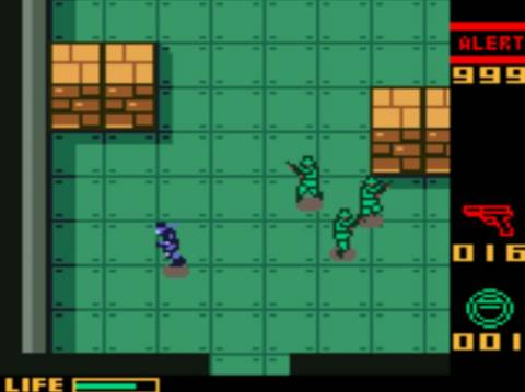Little has been lost in translation in bringing a Metal Gear Solid game to Game Boy Color.
