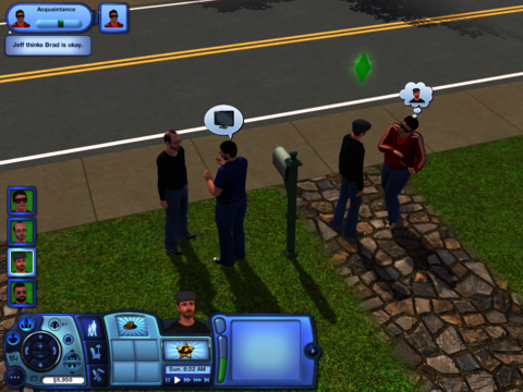 Some familiar faces, courtesy of The Sims 3 exchange.