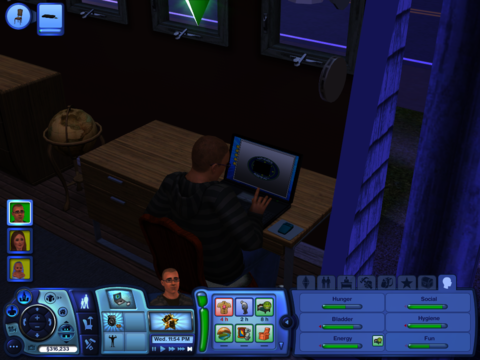 There are still few things more meta than watching your sim use a computer.