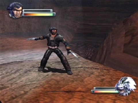Boss fight with Wendigo
