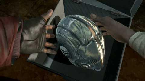 Will's helmet
