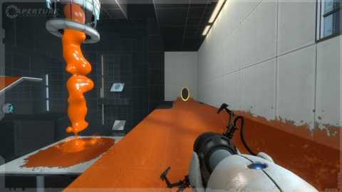 Gels are new to Portal 2, and affect surfaces in many different ways.