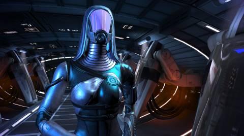 Tali'Zorah Nar Rayya, a Quarian ally in Mass Effect