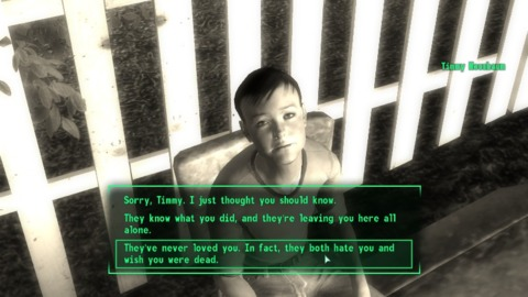 One of the game's more surreal interludes